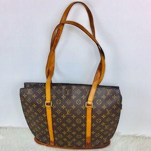 FIRM Aut Louis Vuitton Monogram Maxi Shoulder Bag